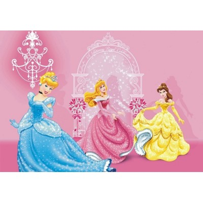 Fotomural PRINCESSES IN PINK CASTLE FTD-0286