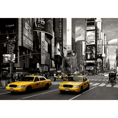 Fotomural YELLOW CABS AT TIMES SQUARE 97286