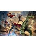 Fotomural Marvel AVENGERS STREET RAGE 8-432