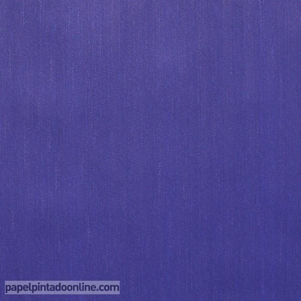 Papel pintado liso Azul oscuro 46682