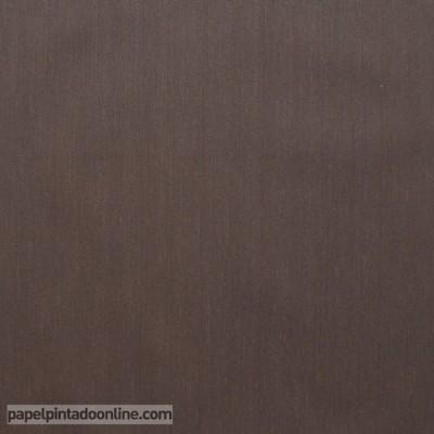 Papel pintado liso Marrón Oscuro 46671