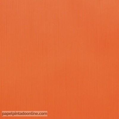Papel de parede liso laranja 45664
