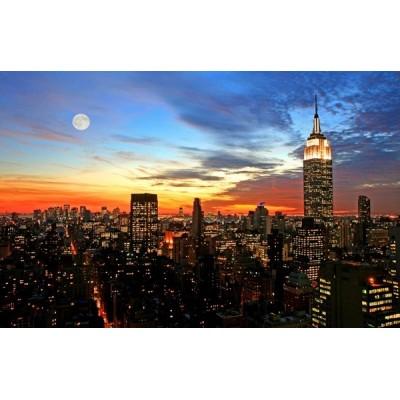 Fotomural New York Anoitecer FCI004