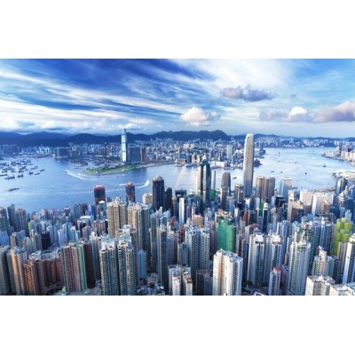 Fotomural Hong Kong FCI019