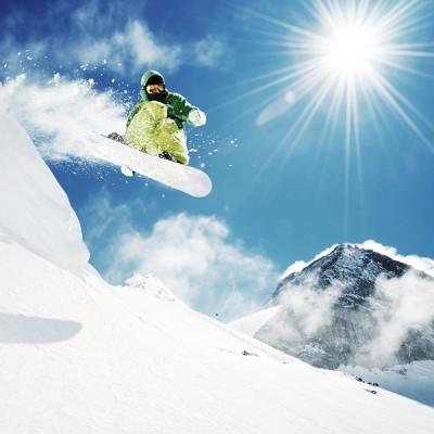 Fotomural Snowboard FDE005