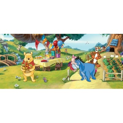 Fotomural WINNIE THE POOH PARTY