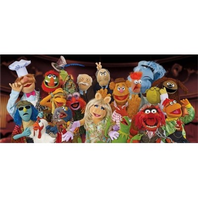 Fotomural THE MUPPETS
