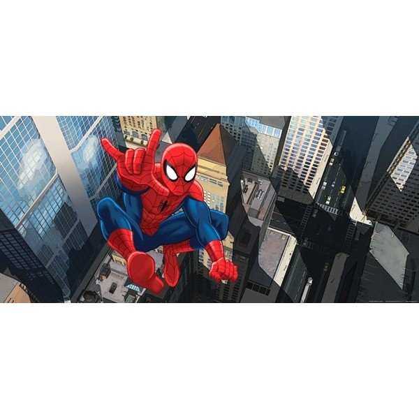 Fotomural SPIDERMAN JUMPING