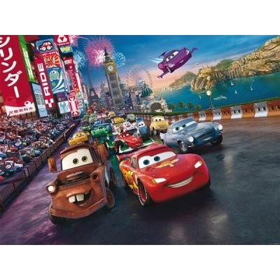 Fotomural CARS ON THE RACE FTD-2216