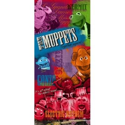 Fotomural THE MUPPETS ROCK FTDV-1805