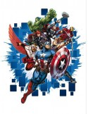 STICKER MARVEL THE AVENGERS DK-1715