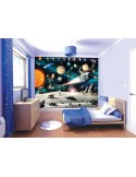 Fotomural Infantil SPACE ADVENTURE - NEW