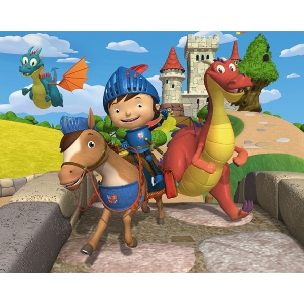 Fotomural Infantil MIKE THE KNIGHT