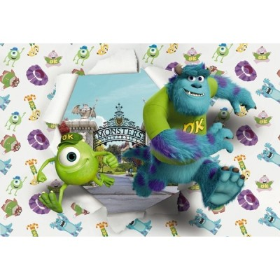 Fotomural Disney MONSTERS UNIVERSITY 8-471