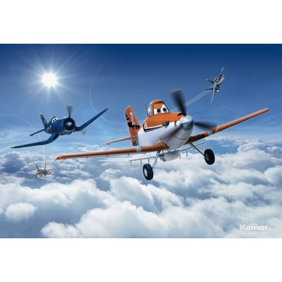 Fotomural Disney PLANES ABOVE THE COULD 8-465
