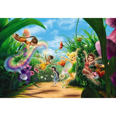 Fotomural Disney FAIRIES MEADOW 8-466
