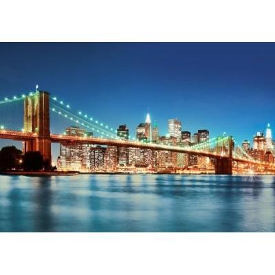 Fotomural NEW YORK EAST RIVER