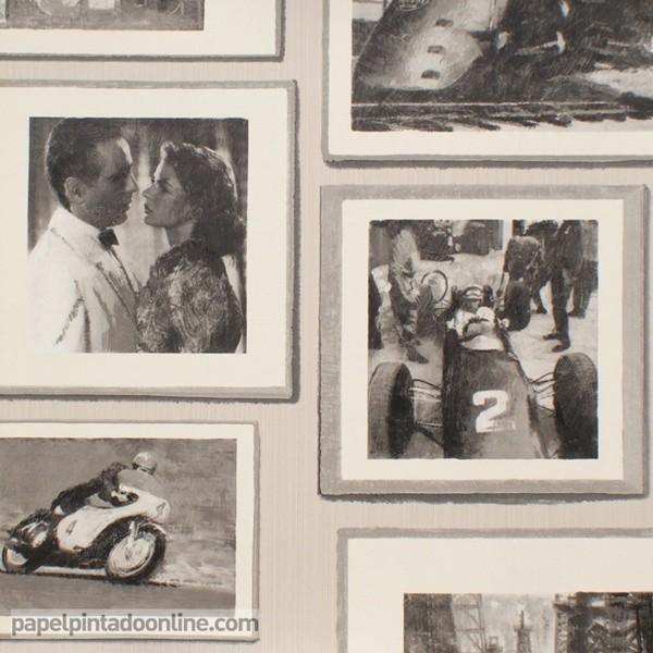 Papel de parede MUSEUM STUDIO NEUTRAL