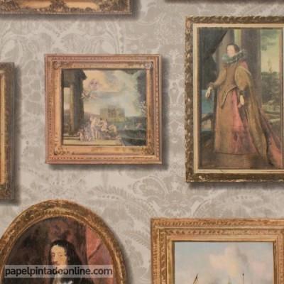 Papel pintado MUSEUM GALLERY TAUPE