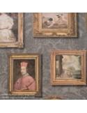 Papel pintado MUSEUM GALLERY CHARCOAL