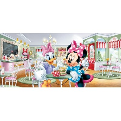 Fotomural BREAKFAST WITH MINNIE AND DAISY