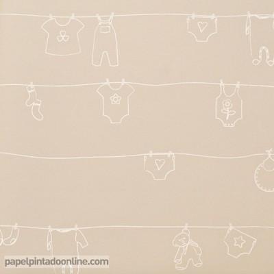Papel de parede BABIES 10141
