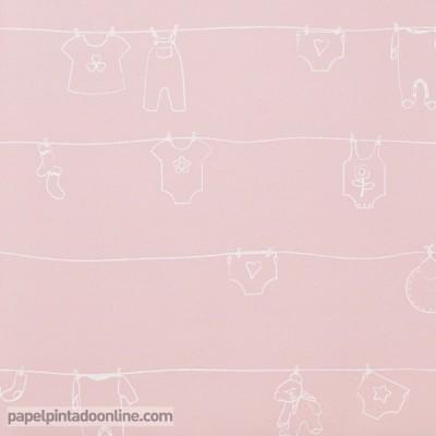 Papel pintado BABIES 10138