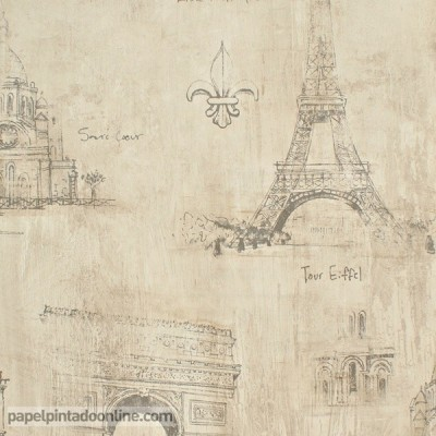 Papel pintado PARIS RS71808