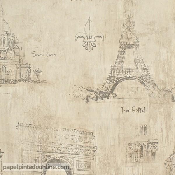 Papel pintado PARIS RS71808