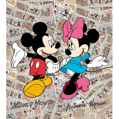 Fotomural MICKEY&MINNIE FTDL-1936
