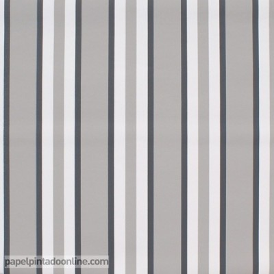 Papel pintado WHITE & GRAY 4962-1