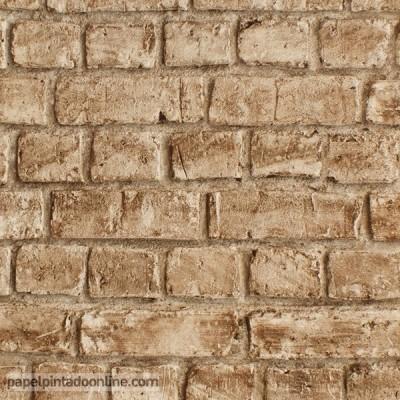 Papel de parede TIJOLO 257B