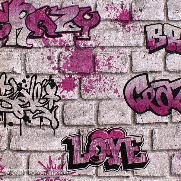 Papel pintado GRAFFITI 258B