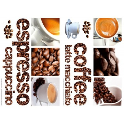 Sticker Coffee 74306