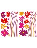 Sticker Flower Meadow 74109
