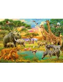 Fotomural AFRICAN ANIMALS
