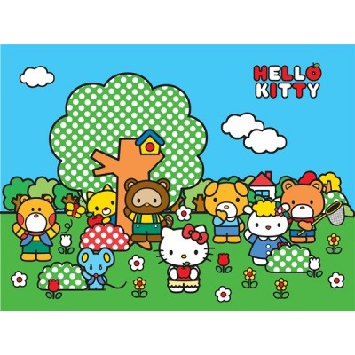 Fotomural HELLO KITTY FRIENDS FT-1472