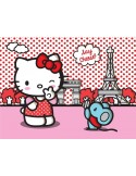 Fotomural HELLO KITTY PARIS FT-1473