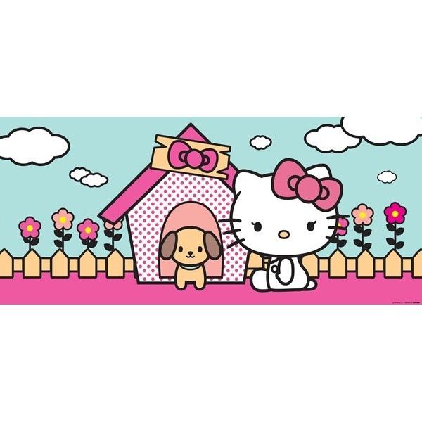 Fotomural HELLO KITTY & DOG FTG-0937