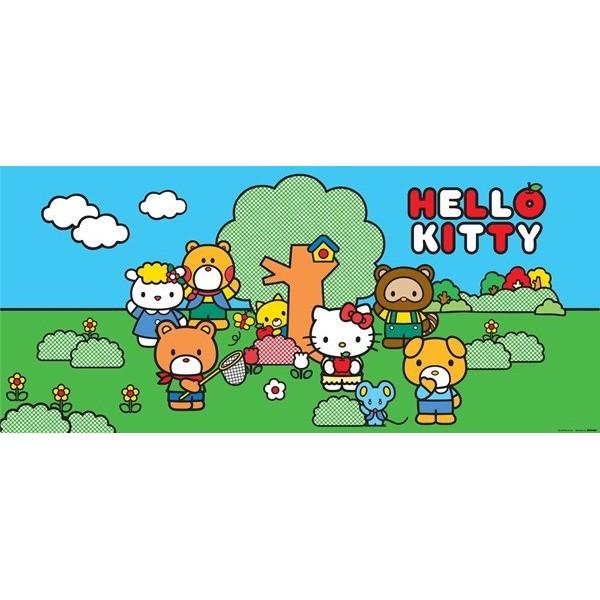 Fotomural HELLO KITTY FRIENDS FTG-0935