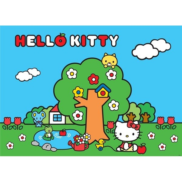 Fotomural HELLO KITTY FOREST FTM-0854