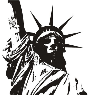 Vinilo Decorativo Statue of Liberty
