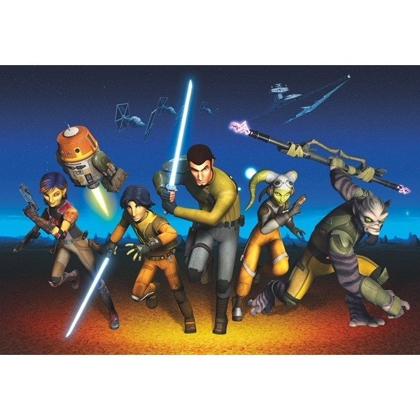 Fotomural STAR WARS REBELS RUN 8-486