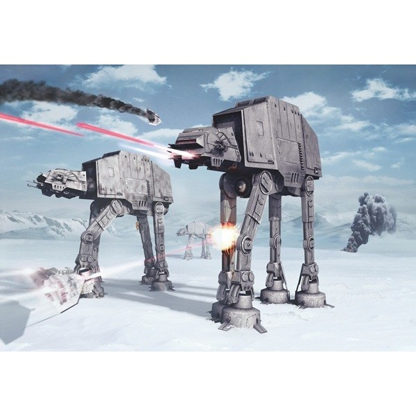 Fotomural STAR WARS BATTLE OF HOTH 8-481