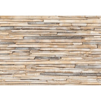 Fotomural WHITEWASHED WOOD 8NW-920