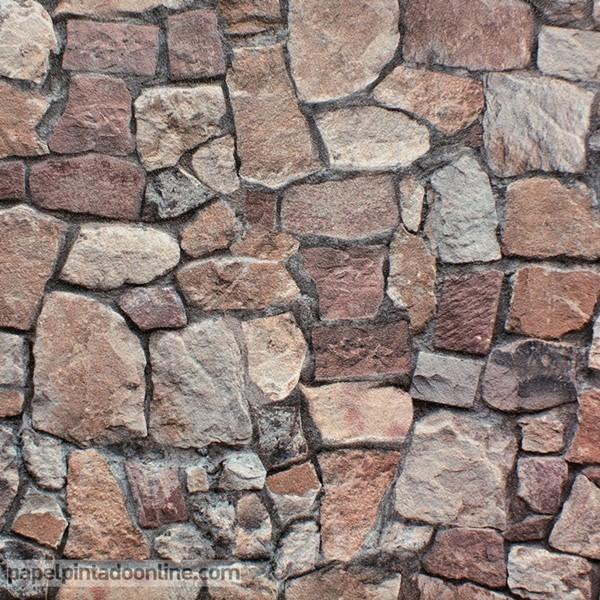 Papel de parede PEDRA 1063B
