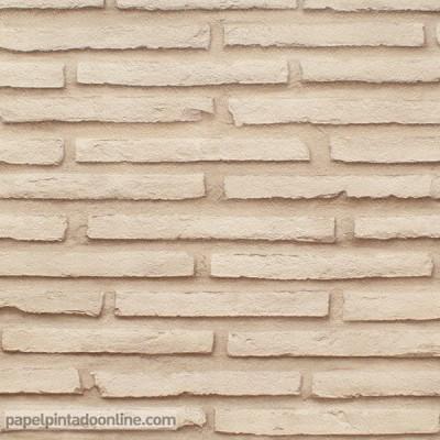 Papel de parede TIJOLO 1065C