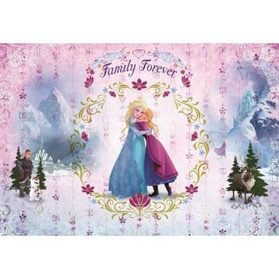 Fotomural Disney FROZEN FAMILY FOREVER 8-479