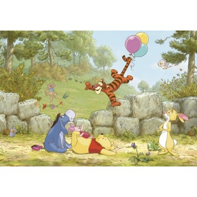 Fotomural Disney WINNIE POOH BALLOONING 8-460
