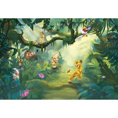 Fotomural Disney LION KING JUNGLE 8-475